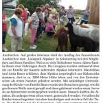 """Pressebericht im """"Vilshofener Anzeiger"""" über den Besuch des Frauenbunds Aunkirchen:"""