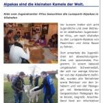 17. Dezember 2013 - Pressebericht über den Besuch des städischen Jugendzentrums 4You Deggendorf.