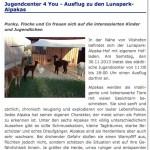 21.11.2013 - Pressemitteilung: Besuchsanmeldung städtisches Jugendzentrum 4You Deggendorf