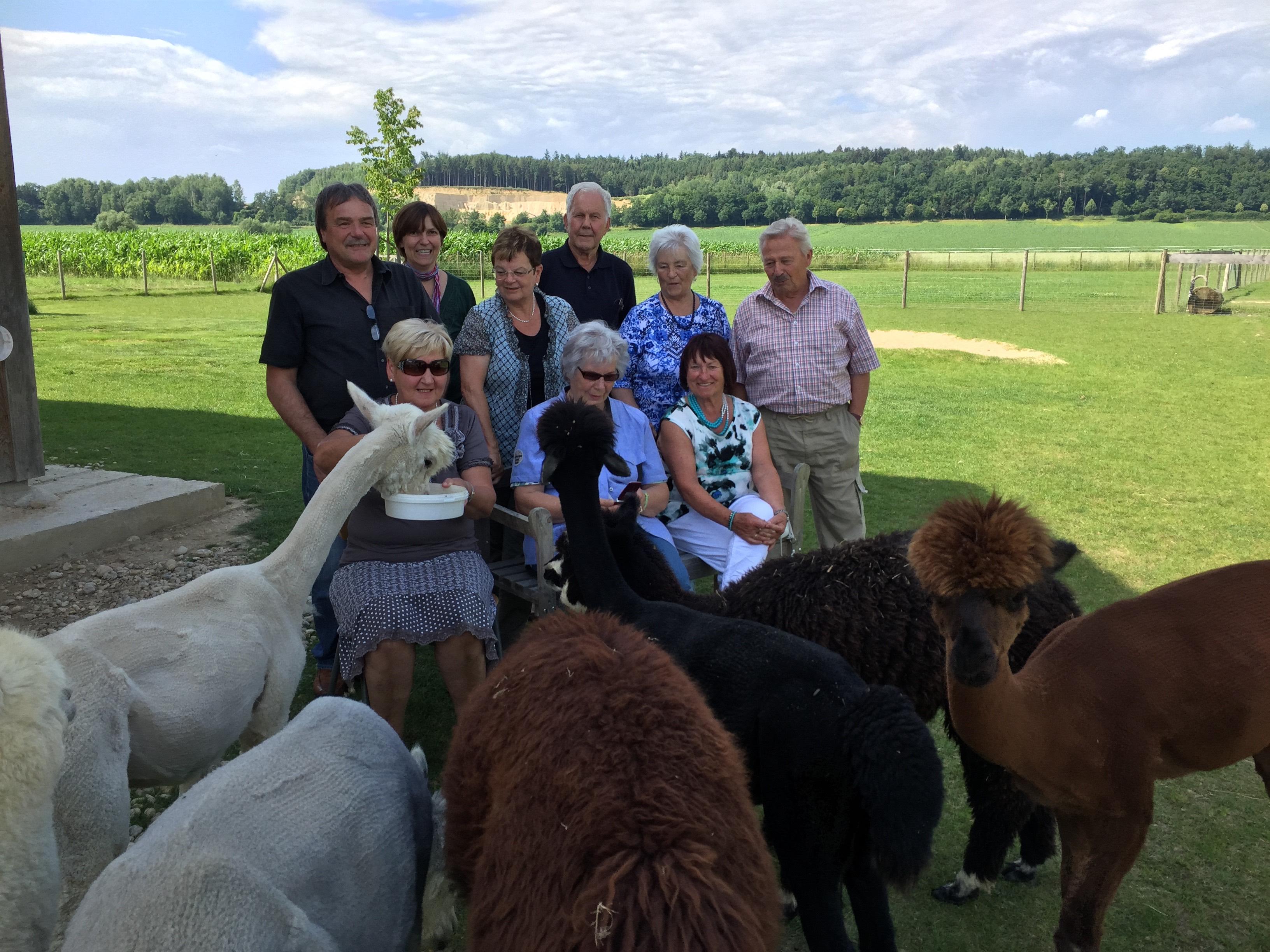 Seniorenbeirat Ortenburg zu Besuch auf unserem Erlebnisbauernhof für alle Generationen