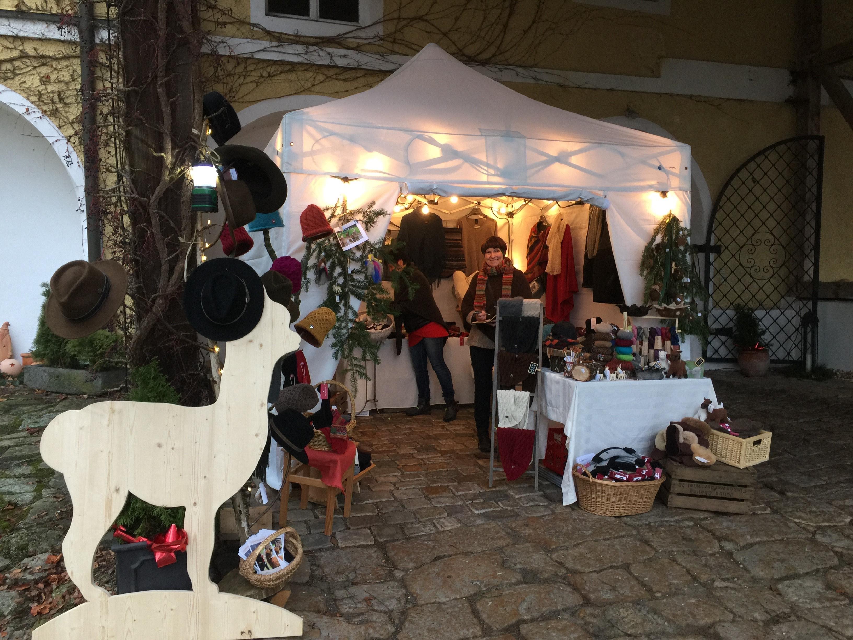 Schon traditionell beschließen wir die Adventszeit auf dem Weihnachtsmarkt in St. Salvator.